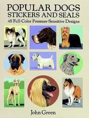 Cover of: Popular Dogs Stickers and Seals