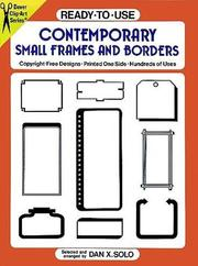 Cover of: Ready-to-use contemporary small frames and borders