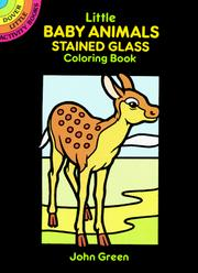 Cover of: Little Baby Animals Stained Glass Coloring Book