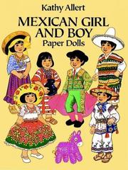 Cover of: Mexican Girl and Boy Paper Dolls