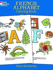 Cover of: French Alphabet Coloring Book