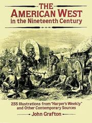 Cover of: The American West in the Nineteenth Century