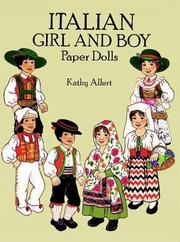 Cover of: Italian Girl and Boy Paper Dolls in Full Color
