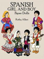 Cover of: Spanish Girl and Boy Paper Dolls in Full Color