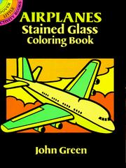 Cover of: Airplanes Stained Glass Coloring Book