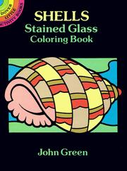 Cover of: Shells Stained Glass Coloring Book