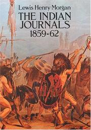Cover of: The Indian journals, 1859-62
