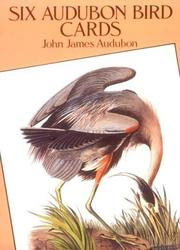 Cover of: Six Audubon Bird Postcards