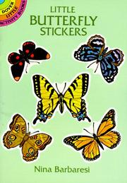 Cover of: Little Butterfly Stickers