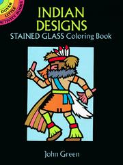 Cover of: Indian Designs Stained Glass Coloring Book