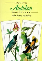 Cover of: Twelve Audubon Bookmarks (Small-Format Bookmarks)