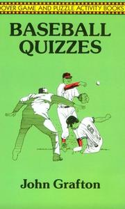 Cover of: Baseball quizzes