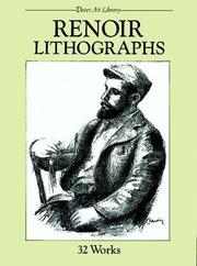 Cover of: Renoir lithographs