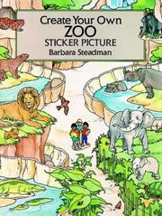 Cover of: Create Your Own Zoo Sticker Picture