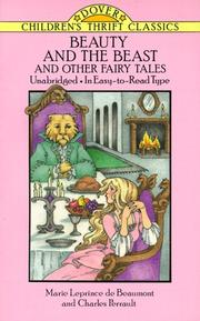 Cover of: Beauty and the beast and other fairy tales