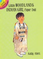 Cover of: Little Woodlands Indian Girl Paper Doll