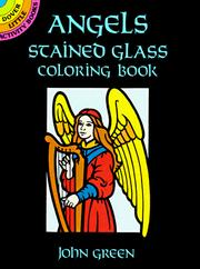 Cover of: Angels Stained Glass Coloring Book