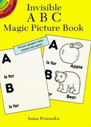 Cover of: Invisible ABC Magic Picture Book