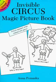 Cover of: Invisible Circus Magic Picture Book