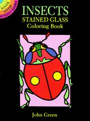 Cover of: Insects Stained Glass Coloring Book