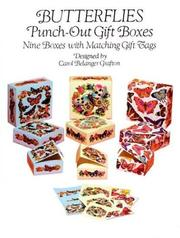 Cover of: Butterflies Punch-Out Gift Boxes