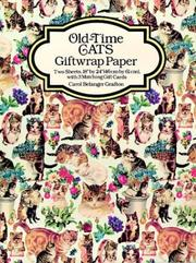 Cover of: Old-Time Cats Giftwrap Paper (Giftwrap--2 Sheets, 1 Designs)