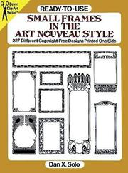Cover of: Ready-to-Use Small Frames in the Art Nouveau Style
