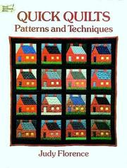 Cover of: Quick quilts