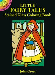 Cover of: Little Fairy Tales Stained Glass Coloring Book