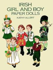 Cover of: Irish Girl and Boy Paper Dolls