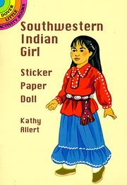 Cover of: Southwestern Indian Girl Sticker Paper Doll