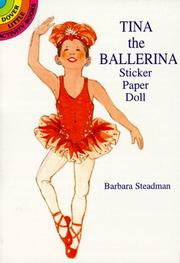 Cover of: Tina the Ballerina Sticker Paper Doll