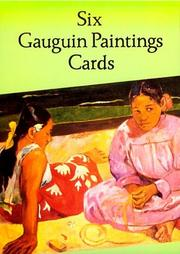 Cover of: Six Gauguin Paintings Cards (Small-Format Card Books)