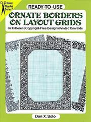 Cover of: Ready-to-Use Ornate Borders on Layout Grids