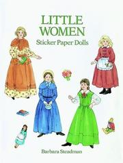 Cover of: Little Women Sticker Paper Dolls | Barbara Steadman