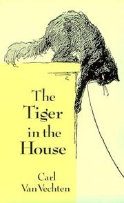 Cover of: The tiger in the house