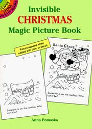 Cover of: Invisible Christmas Magic Picture Book