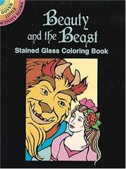 Cover of: Beauty and the Beast Stained Glass Coloring Book
