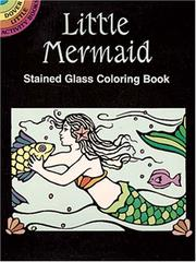 Cover of: Little Mermaid Stained Glass Coloring Book