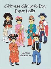 Cover of: Chinese Girl and Boy Paper Dolls (Boys & Girls from Around the Globe)