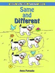 Cover of: Same and Different (Beginners Activity Books)