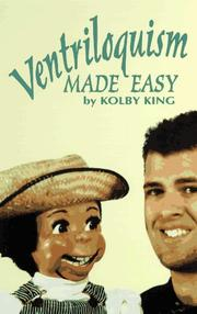 Cover of: Ventriloquism made easy