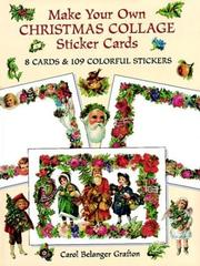 Cover of: Make Your Own Christmas Collage Sticker Cards