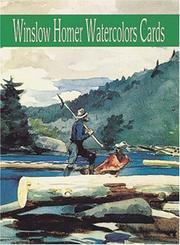 Cover of: Winslow Homer Watercolors Cards (Small-Format Card Books)