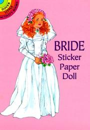 Cover of: Bride Sticker Paper Doll