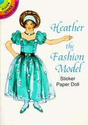 Cover of: Heather the Fashion Model Sticker Paper Doll