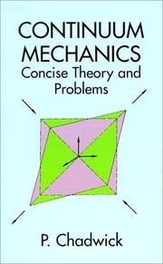 Cover of: Continuum mechanics