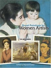Cover of: Great Paintings by Women Artists