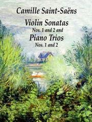 Cover of: Violin Sonatas Nos. 1 and 2 and Piano Trios Nos. 1 and 2 (Chamber Music Scores)