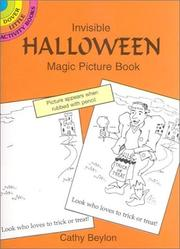 Cover of: Invisible Halloween Magic Picture Book